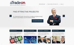 atradeon Trading Platform Screenshot
